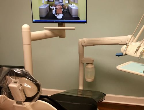 Patient Chair Mounted Secondary Monitor